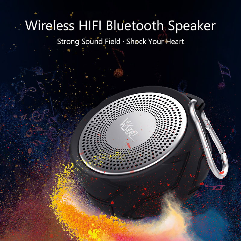 Image 5 - VVKing Wireless Bluetooth Speaker Outdoor Portable altavoz Stereo With Mic Loudspeaker IPX6 Waterproof High Quality Speaker Bass-in Portable Speakers from Consumer Electronics