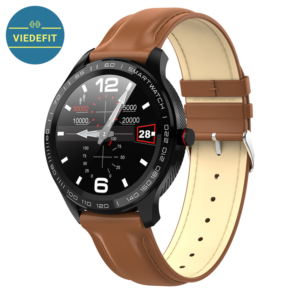 L9 Smart Watch ECG Heart Rate Calls Reminder Full Touch <font><b>Smartwatch</b></font> IP68 Waterproof Watch Men For Android IOS PK <font><b>L7</b></font> GT2 L5 L8 image