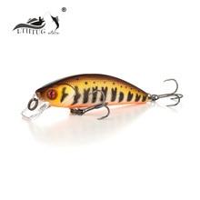 Peche lthtug isca de pesca foxy minnow, hw 40s 2.6g 50s 4.5g, minnow para perch pique trutas
