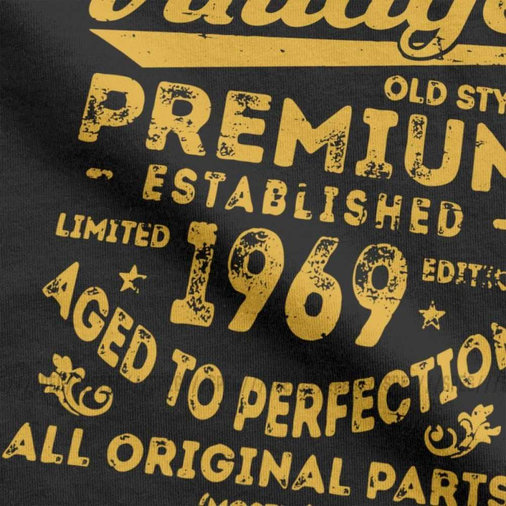 Vintage 1969 50th Birthday Gift Idea T Shirt For Men 50 Years Old