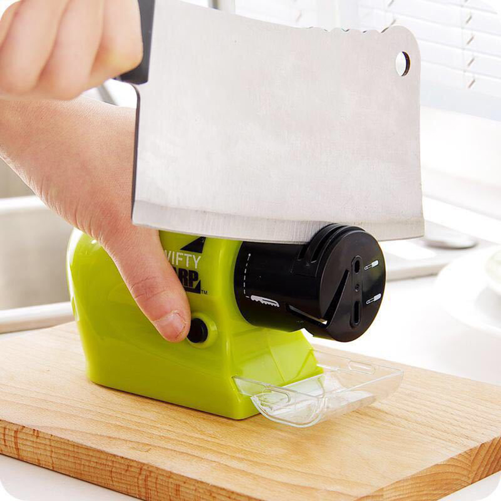Многофункциональная электрическая точилка для ножей, моторизованный кухонный нож, точильный камень, автоматические аксессуары Ginder