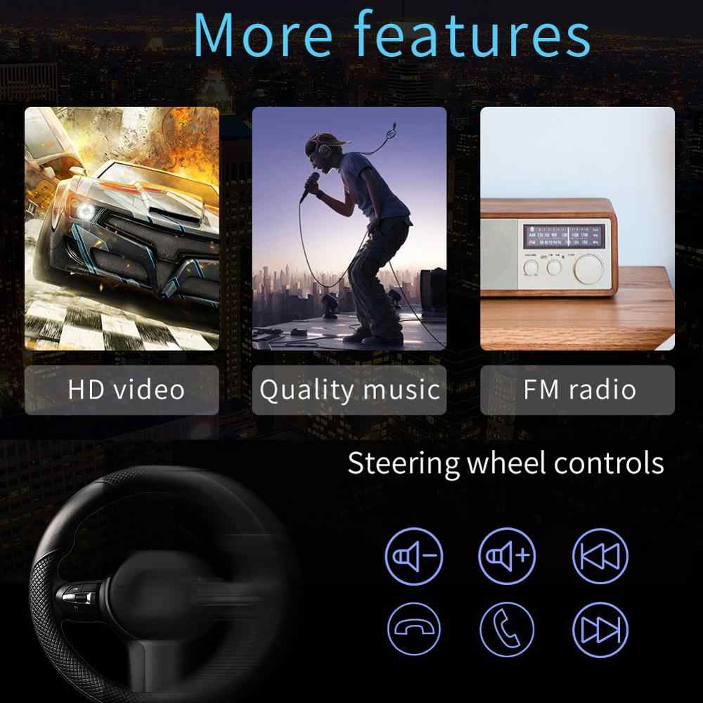 9210S Android 10.1 2 Din Auto Radio Multimedia Video Player 7 Inch Scherm Autostereo Wifi Gps Fm Radio Ontvangen hoofd Unit