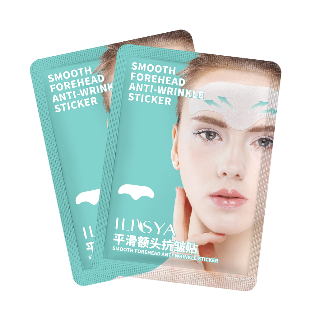 Ilisya Forehead Wrinkle Patches Forehead Stickers Anti Wrinkles Pads Anti Aging Fine Lines Removal Lifting-1 PC