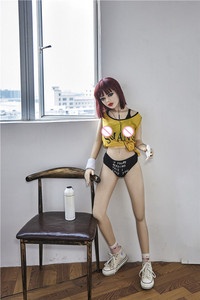 Image 5 - Yannova #33 מין בובת 145cm מלא TPE עם שלד למבוגרים מין צעצוע אהבת בובת נרתיק מציאותית מציאותי סקסי בובת עבור גברים