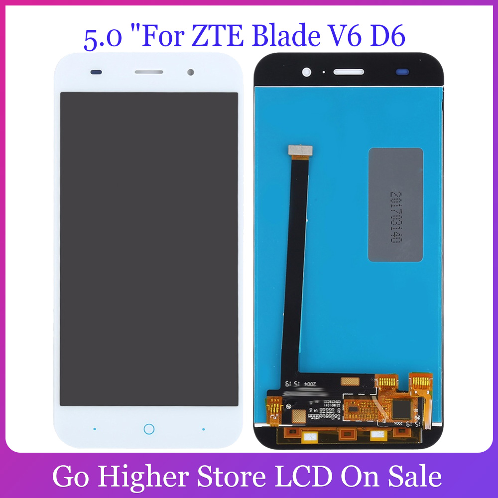 5.0 For ZTE Blade V6 D6 Z7 X7 T660 T663 LCD Display + Touch Screen Digitizer Panel Replacement image