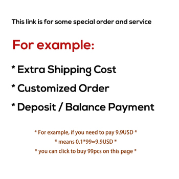 Some Special Order or Service (Extra Shipping Cost, Customized Order, Deposit or Balance payment) image