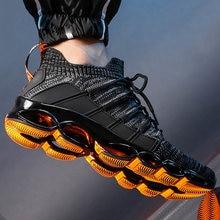 Мужская спортивная обувь модные дышащие мужские кроссовки на
