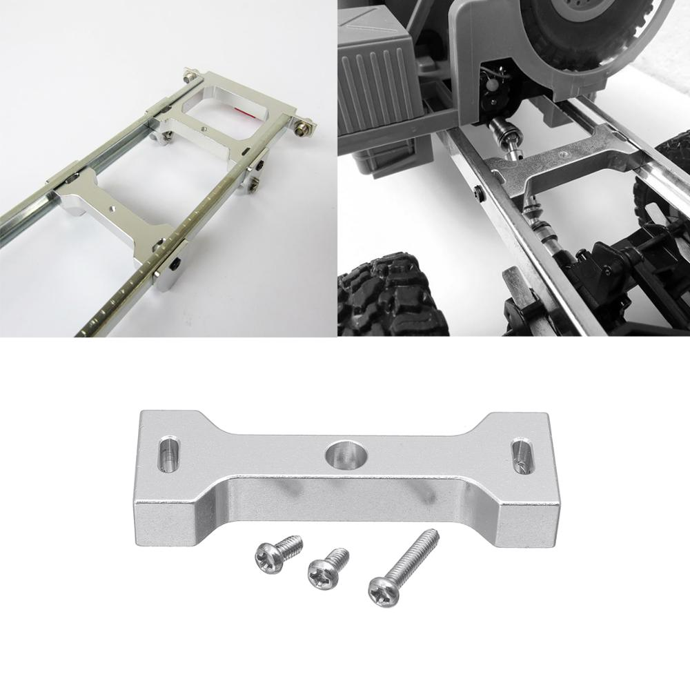 Mount Seat Parts For WPL C14 C24 B14 B16 B24 1/16 RC Car Metal Beam Center Fixed Accessories Cooler Perfect Suit Silver