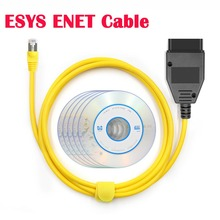 ESYS ENET USB Cable PSdZData V50.3 for BMW F serie ESYS1 3 5 6 7 X3 Refresh Hidden Data E SYS ICOM Coding ECU Programmer Scanner