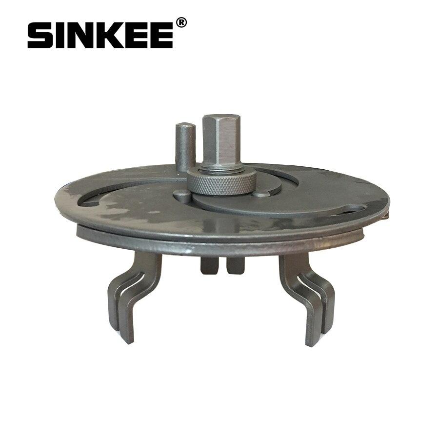 3-кулачковый Регулируемый топливный бак ключ для крышки топливного датчика Отправитель ошейников инструмент для удаления SK1632