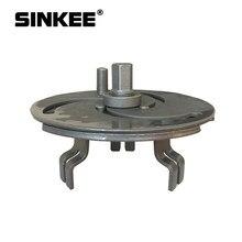 Llave de tapa de tanque de combustible ajustable de 3 mordazas, herramienta de extracción de collares Sender SK1632