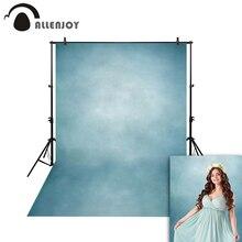 цена на Allenjoy Thin Vinyl cloth photography Backdrop blue Children Wedding Baby Background Photo Studio Decor Backgrounds MH-074