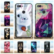 For Xiaomi Mi 8 Lite Case Ultra Thin Soft TPU Silicone 8X Cover Paris Tower Patterned Youth Coque