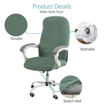 Water Resistant Jacquard Computer Chair Cover 5 Chair And Sofa Covers