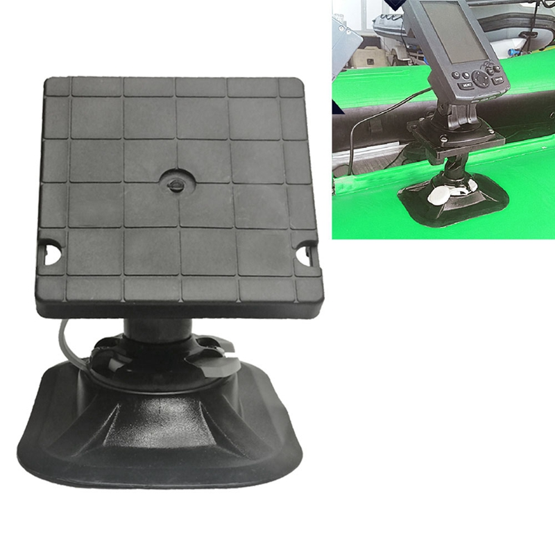 NEW-Universal Rotary Kayaking Electronic Fish Finder Mounting Bracket Inflatable Boat Gps Electronic Fish Detector Stand Fishing