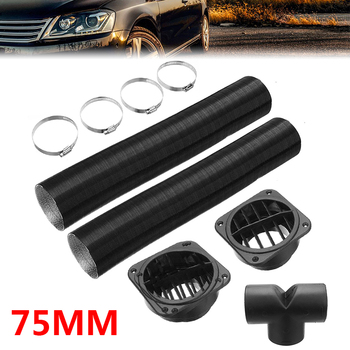 1 Set For Diesel Heater Replacement Air Intake Pipe Air Filter Silencer Vent Outlet Tube Parking Heater Accessories