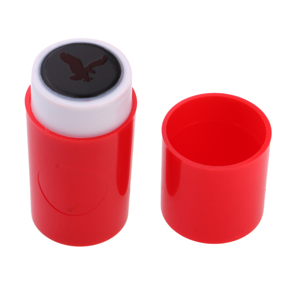 3Pcs Colorfast ABS Plastic Golf Ball Stamper Marker With Eagle Shape