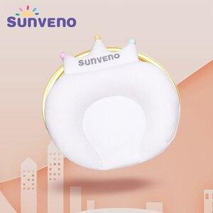Image 2 - Sunveno Baby Pillow Infant Newborn Sleep Support Concave Cartoon Pillow Cushion Prevent Flat Head