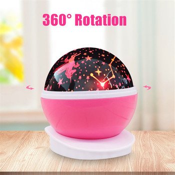 цена на fairy LED Night Light Projector Star Moon Sky Rotating Sleep Romantic USB Projection Lamp For Children Baby Bedroom Christmas