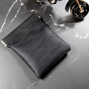 New Metallic Frame Oxford Coin Purse Women Men Mini Short Wallet Money Change Earphone Organizer Bag Portable Card Holder Solid