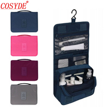 Cosyde Women Travel Cosmetic Bags Hanging Wash Bag Makeup Daily Supplies Hanging Toilet Organizer Bag Portable Make Up Bags soomile 2018 new travel cosmetic bag hanging make up bags waterproof men women portable wash supplies storage bags for suitcase
