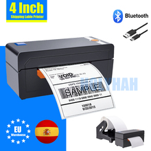 High Speed 426 Shipping Label Printer 4 Inch Thermal Barcode Printer Bluetooth Usb Port for E-business Sticker Phone Mac Windows