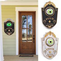 Хэллоуин Декор ужас глаз дверной звонок игрушка практичный дом с привидениями вечерние Декор дверной звонок необходимые бытовые товары дл...