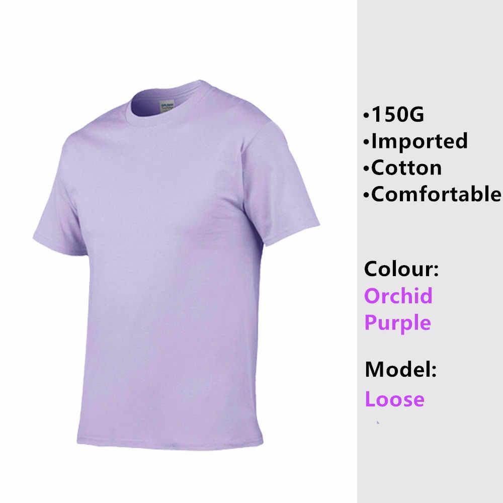 Riinr 男性の綿カジュアル Tシャツの男性の夏換気 Tシャツファッション男性 Tシャツ無地ストリートシンプルさ Tシャツトップ