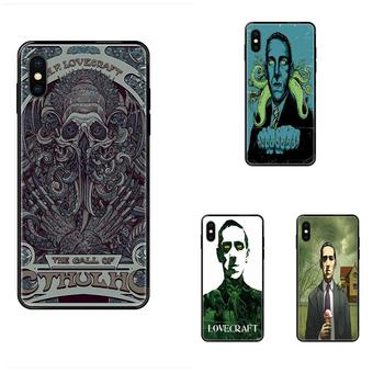 For Huawei Honor Mate Play V10 View 10 20 20X 30 Lite Pro Y3 Y5 Y9 Nova 3 3i Pro Diy Drawing TPU Cool Lovecraft Film Festival image