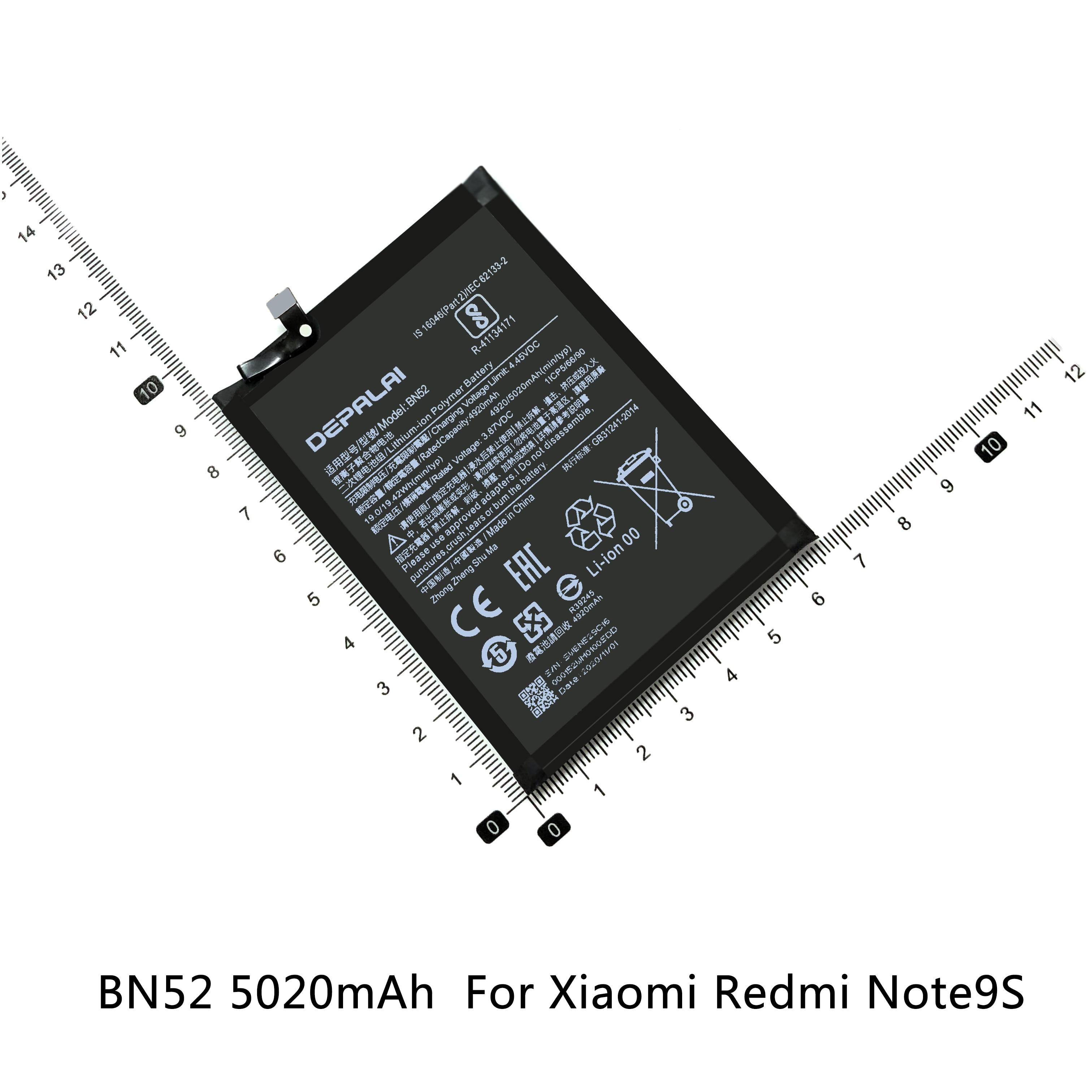 bn52 bn53 bn57 bn61 bn62 bateria para 01