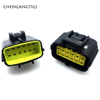 2 комплекта, водонепроницаемая шестерня-Коннектор с 12-контактным разъемом типа «мама», «папа», «Ампер», «Denso», 174661-2 174663-2 368537-1
