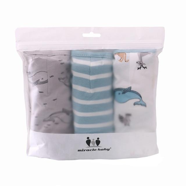 3Pcs Set Newborn Swaddle Wrap Cotton Baby Swaddling Sleeping Bag Infant Envelope Sleep Sack Bedding For 0-6 Months 6