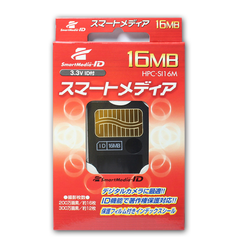 Toshiba 16MB 3.3V 3V SmartMedia Card SM 16M Memory Card GENUINE Smart Media Card By TOSHIBA Used Item For Electronic Device