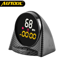 AUTOOL X70 GPS Head up Display HUD Speedometer Meter Altitude Time Compass Digital Over speed Alarm KMH PMH for All Vehicles