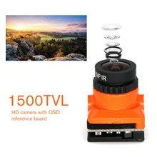 цена на HD 1500TVL Upgrade Mini FPV HD Camera 2.1mm Lens PAL / NTSC Low Latency With OSD for RC FPV Racing Drone Part