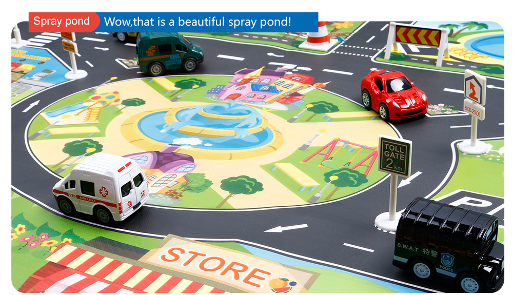 H065c4a095def4104bdfea3c18cbbf15aR Large City Traffic Car Park Mat Play Kids Rug Developing Baby Crawling Mat Play Game Mat Toys Children Mat Playmat Puzzles GYH