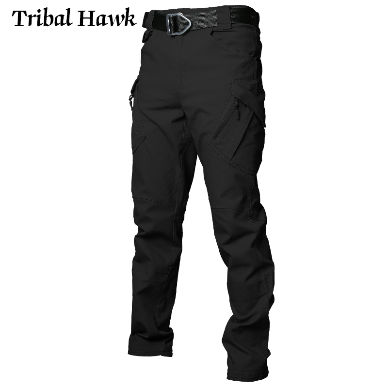 Image 4 - Tactical Cargo Pants Men Military Work Pants Army Stretch Flexible Multi Pockets Casual Cotton Trousers Pantalon Hombre XXXL IX9-in Cargo Pants from Men's Clothing