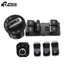 مفتاح تحكم في زجاج المرآة للمصابيح الأمامية J etta 6 Golf 5 6 Touran Tiguan Caddy Passat B6 CC 5ND 959 857
