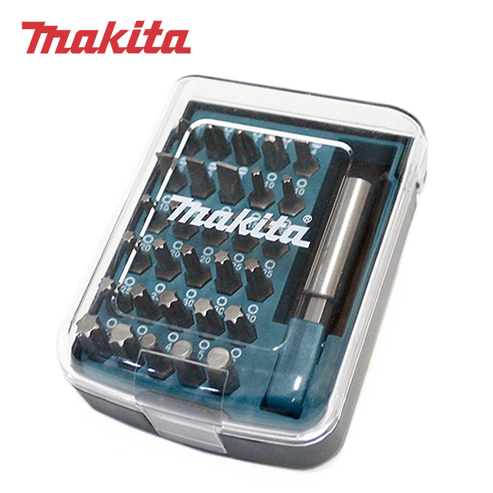 Makita B-45406 Magnetic Holder Screwdriver Bits 31 Pcs Set
