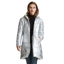RICORITฤดูหนาวแจ็คเก็ตผู้หญิงลงเสื้อแจ็คเก็ตอุ่นHooded Down Coat Slim Parkasแจ็คเก็ตหญิงX Long Пуховик Женский Куртка женская