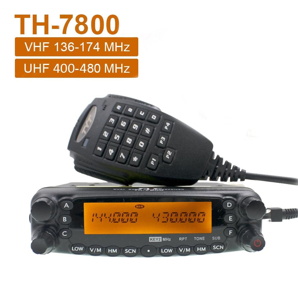 TYT мобильный радиоприемник высокой мощности, Съемная передняя панель, двухдиапазонный автомобильный приемопередатчик, новейшая версия