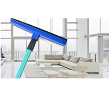 75cm New Lengthened Window Squeegee Cleaner Brush Shower Car Wiper Sponge Random Color Extendable