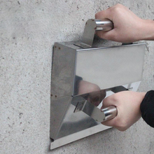 Stainless Steel Wall Plaster Dust Trowel Putty Scraper Concrete Cement Tool Concrete Trowel Scraping Dust Trowel Powder