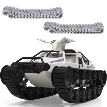 1203 World of RC Tank Car 2.4G 1:12 High Speed Full Control Vehicle Models 5M Wading Depth With Gull-wing Door Metal Crawler full rc metal tank car chassis all metal structure crawler big size load large obstacle surmounting tank chassis tracked vehicle