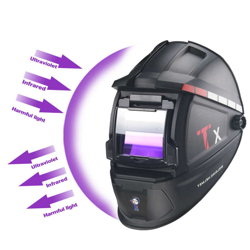 Solar Auto Darkening Welding Mask Helmet Welder Cap for Welding Machine and Plasma Cutting Tool