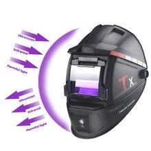 Solar Auto Darkening Welding Mask/Helmet/Welder Cap for Welding Machine and Plasma Cutting Tool