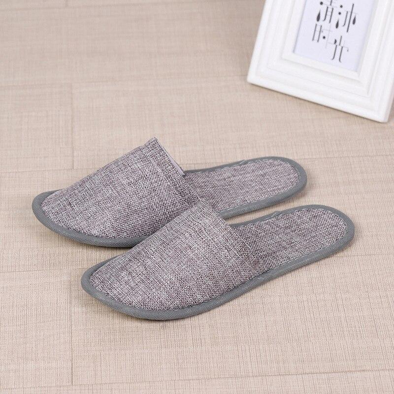 1 paio size 38//39 Pantofole da casa antiscivolo in cotone a righe Pantofole da hotel Pantofole da uomo Pantofole da uomo e da donna Pantofola Spa red