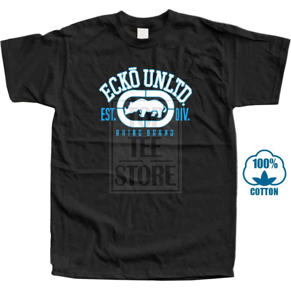 Ecko Unltd Men'S Rhino Remains Tee Shirt Western Style Print Gift Mens Short T Shirts