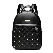 2019 New Rivet Backpack Women Shoulder Bag Fashion Female School Bag For Girls Large Capacity  Double Zipper Casual Travel Bag