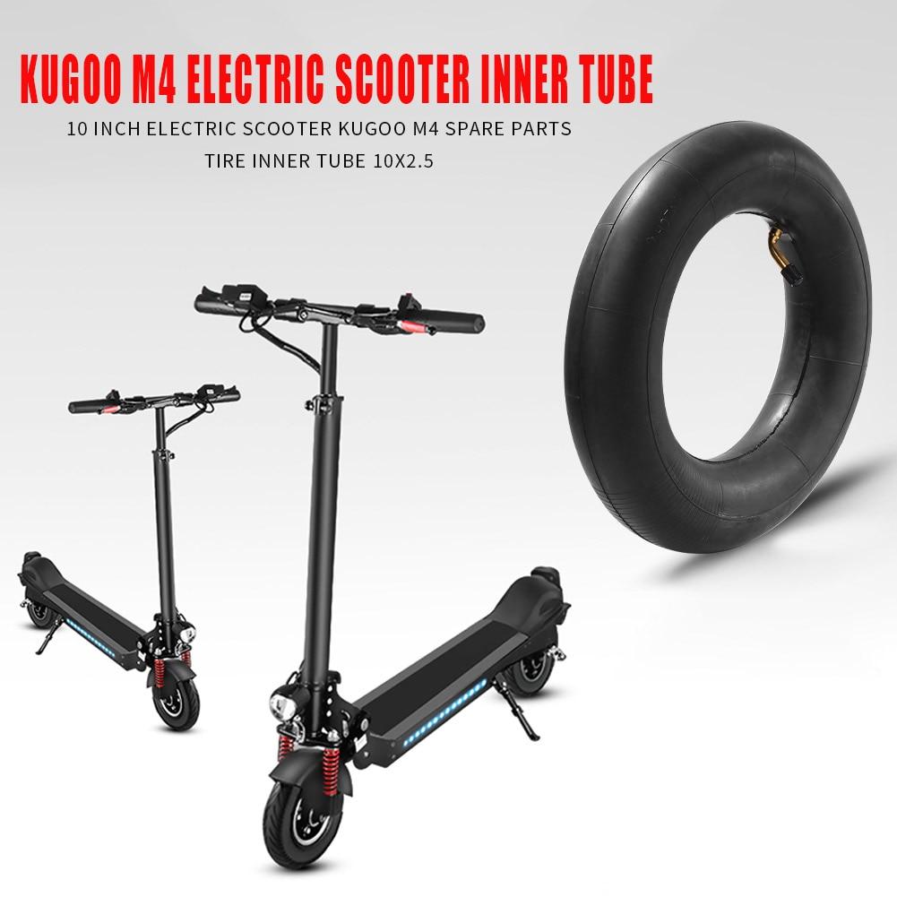Chambre à air pneumatique épaissie de Scooter électrique de 10 pouces pour Kugoo M4 10x2.5 pneus pneumatiques de roue intérieure d'e-scooter